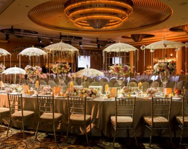 Ritz Carlton Millenia Singapore Wedding