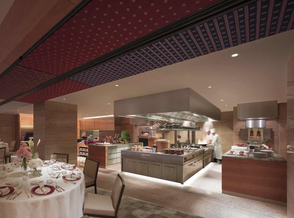 Grand Hyatt Singapore Show Kitchen