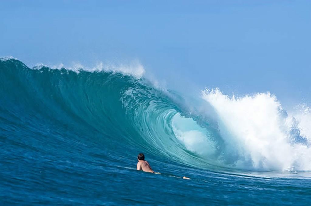 Surfing honeymoon in Mozambique