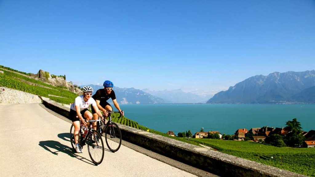 Cycling honeymoon in The Alps