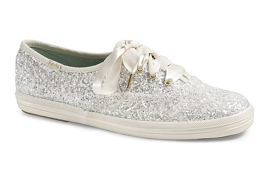 Keds x kate spade glittery sneakers us 80 available at keds