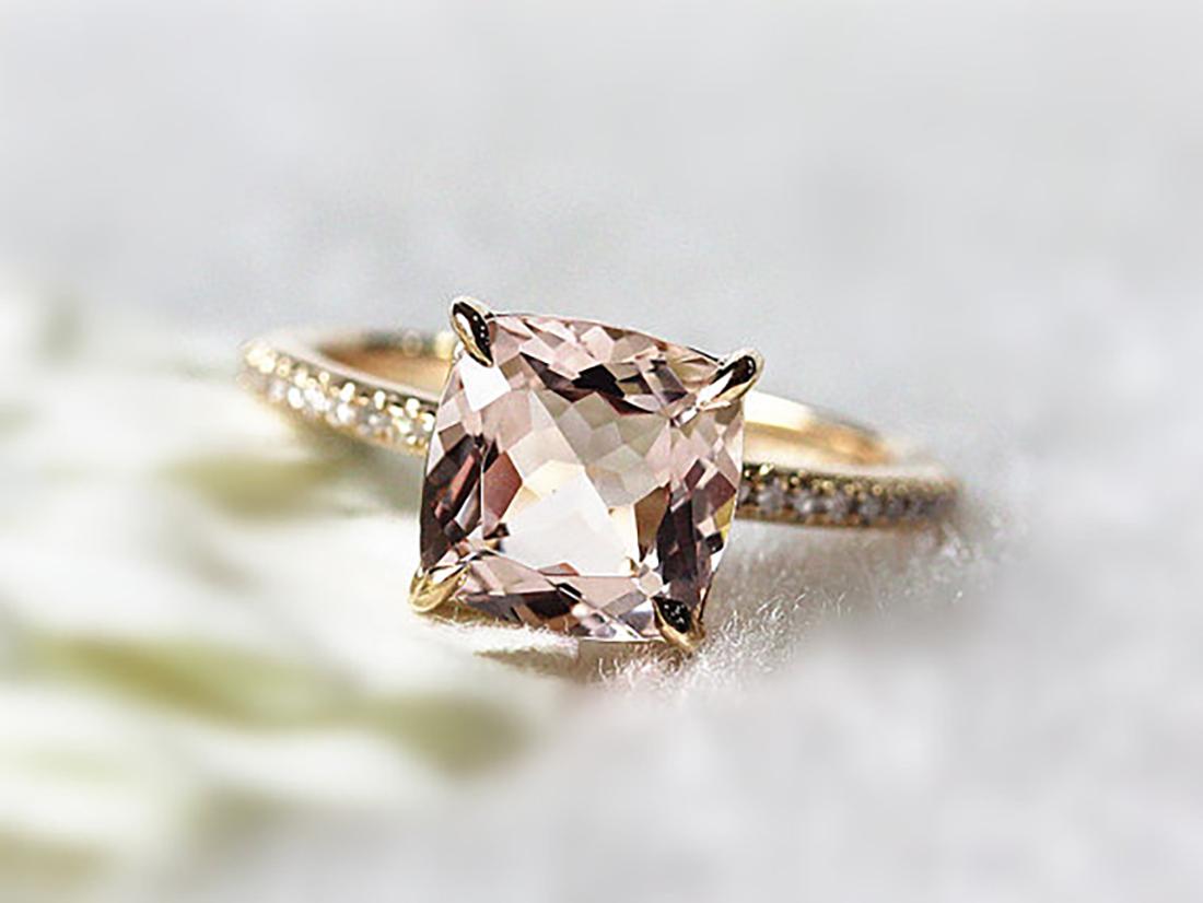 Pink-morganite-engagement-ring- HoneyBrides