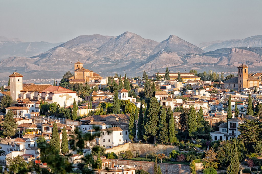 Granada-Spain-Honeymoon