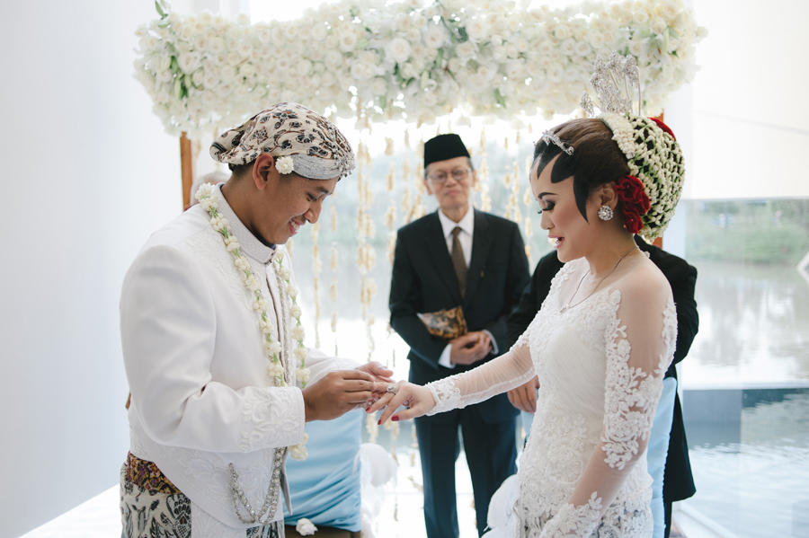 Indonesian malay wedding