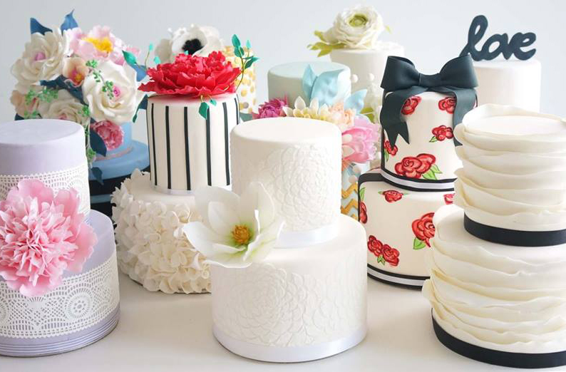 Susucre_Wedding Cakes Singapore