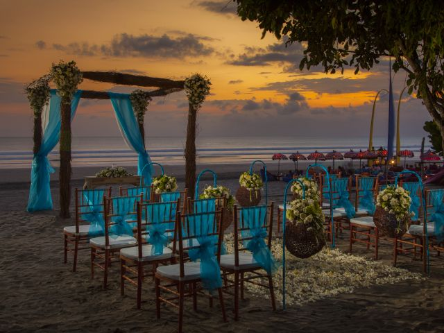 The Beach Seminyak Sunset