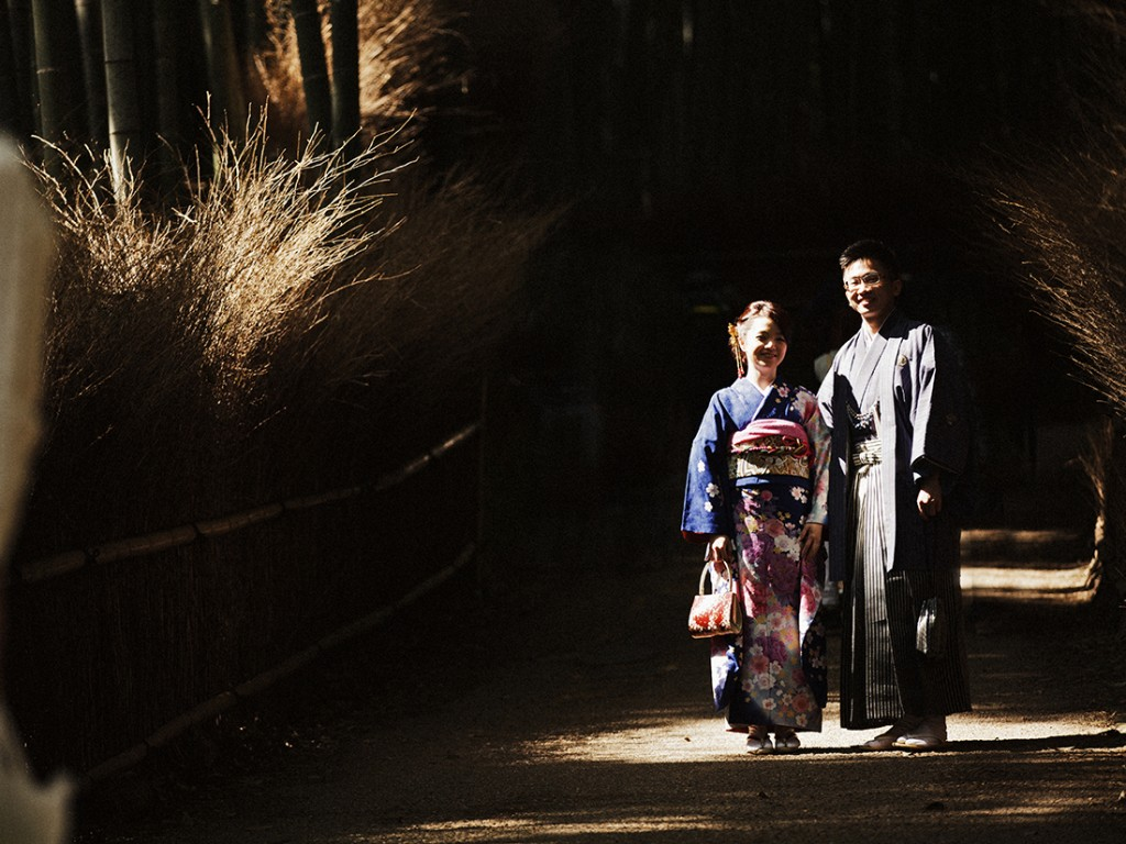 Lex and Wein's pre-wedding shoot in Kyoto, Japan