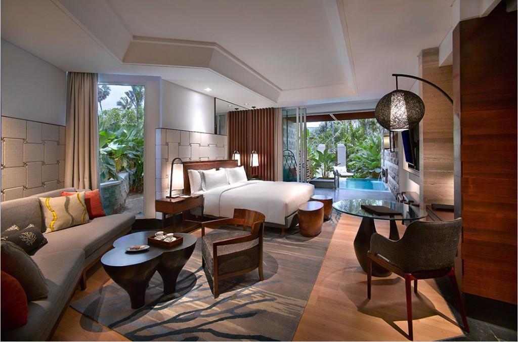 Sofitel Bali Nusa Dua's Luxury Room with plunge pool