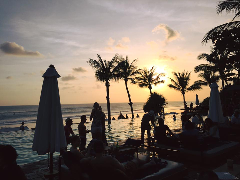 Sunset at Potato Head Beach Club, Bali