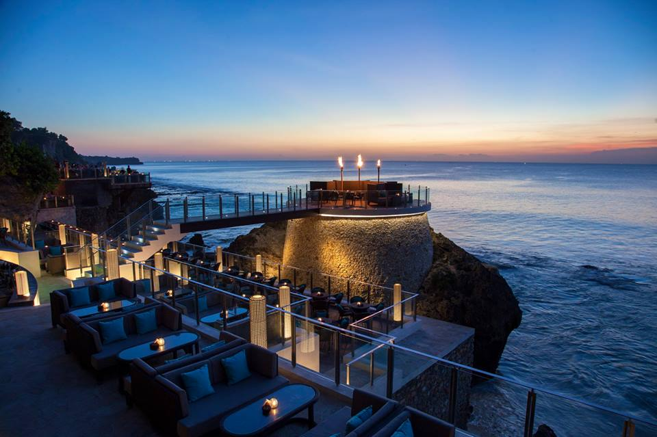 Sunset at Rock Bar, Bali
