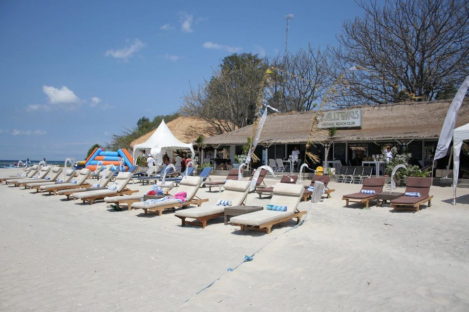 Scallywags Organic Beach Club, Gili Trawangan, Lombok