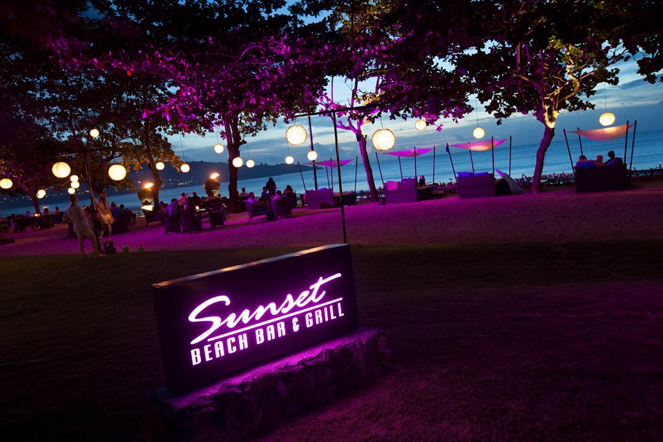 Sunset Beach Bar and Grill at InterContinental Bali