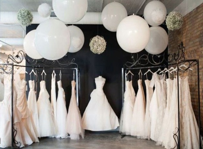Guide to wedding gown silhouettes how to choose the for What kind of shoes to wear with wedding dress
