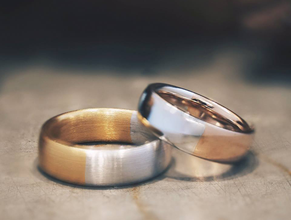 Carrie K wedding bands