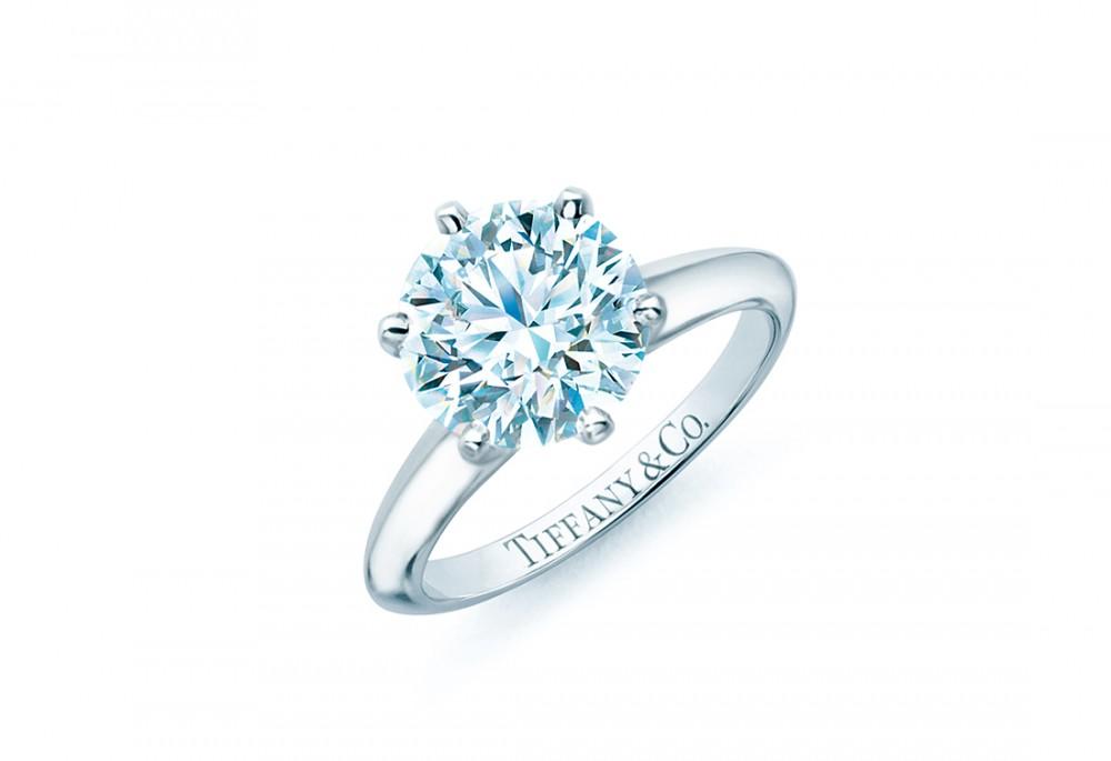 Tiffany & Co's classic Tiffany setting