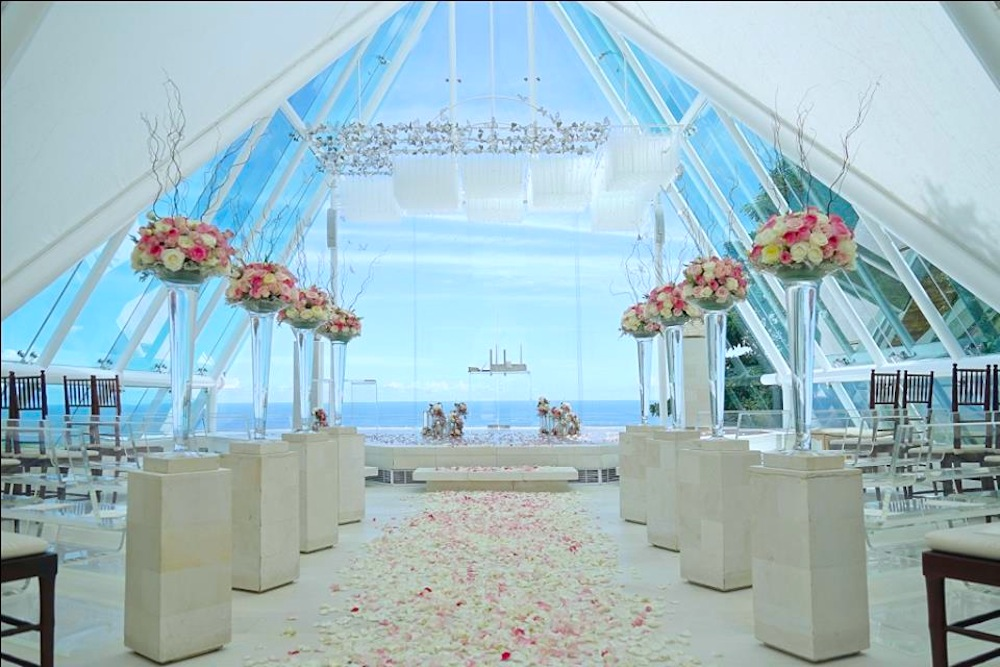 most beautiful places in the world to get married Honeybrides Tirtha Uluwatu