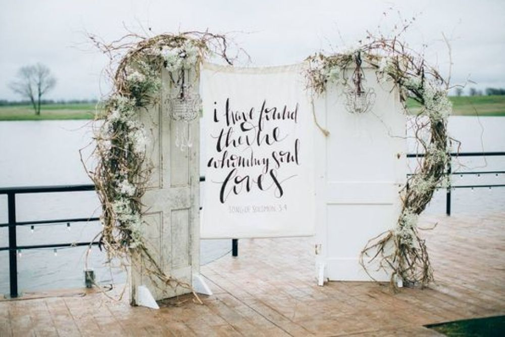 Wedding decoration ideas: Unique ceremony backdrops for ...