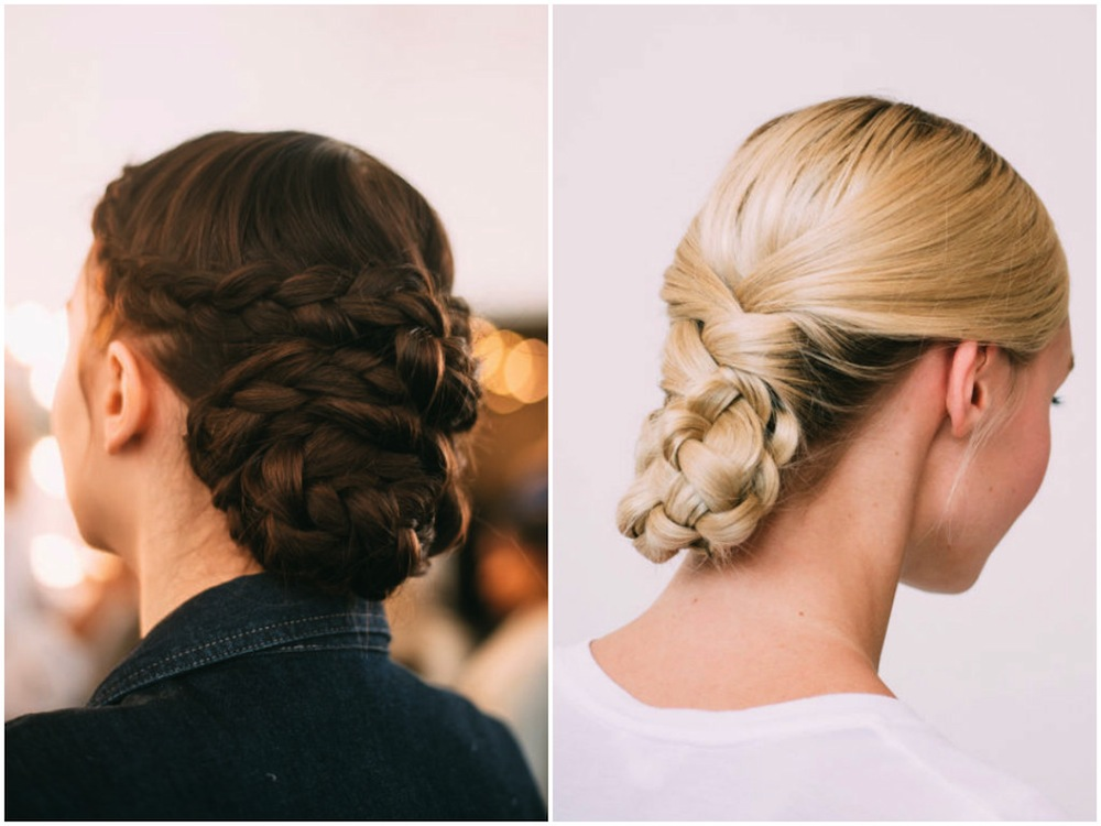 wedding hairstyles bridal fashion week Honeybrides braids