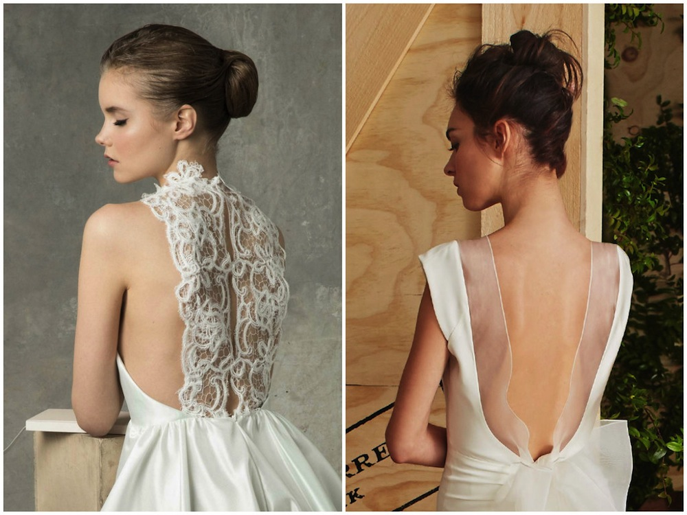 wedding hairstyles bridal fashion week Honeybrides ballerina bun