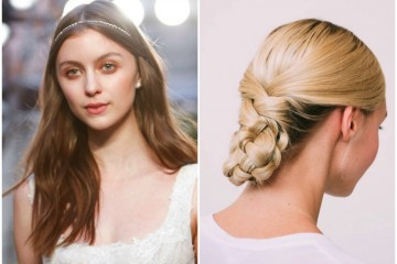 wedding hairstyles bridal fashion week Honeybrides