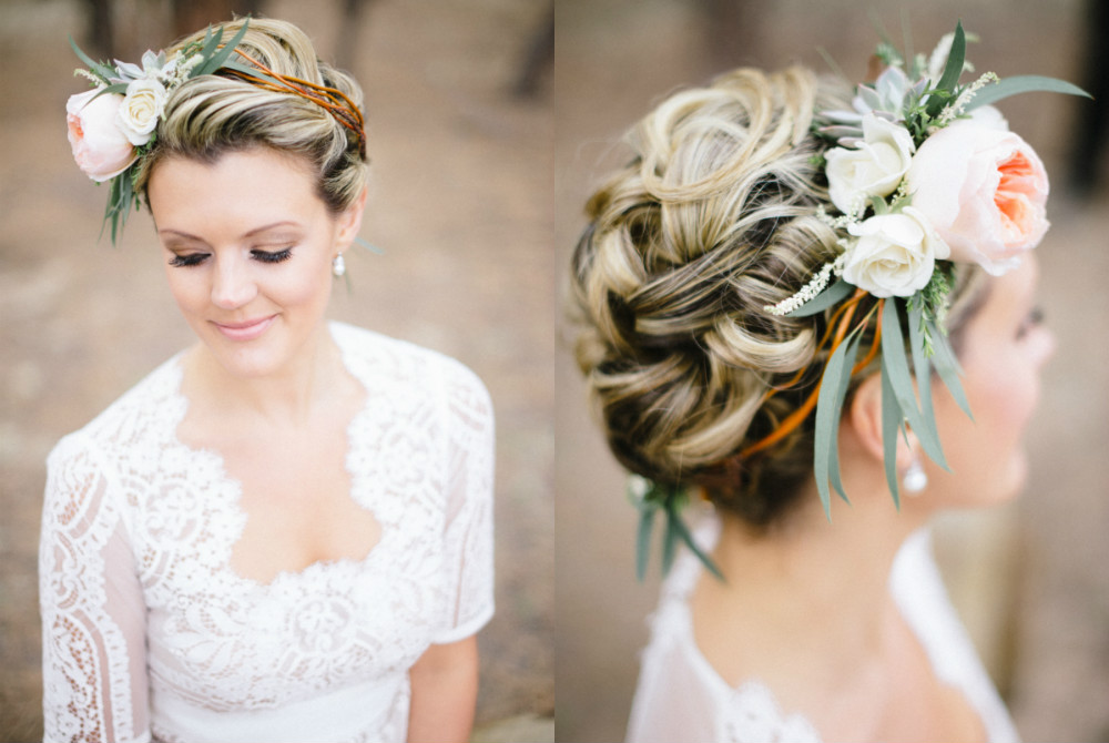 Wedding hairstyles for brides: Elegant updo ideas for all hair lengths Carrie King Photographer