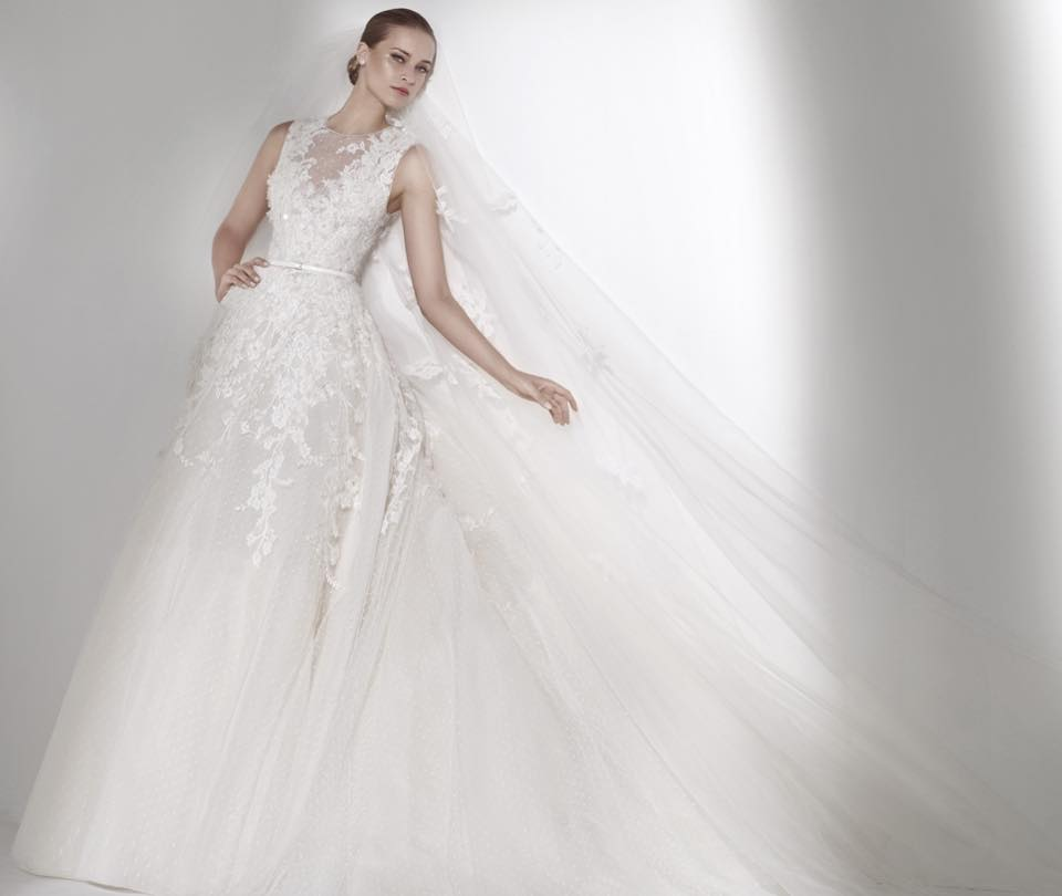 Elie saab wedding gownbelle and tulle honeybrides elie saab wedding gownbelle and tulle junglespirit Choice Image