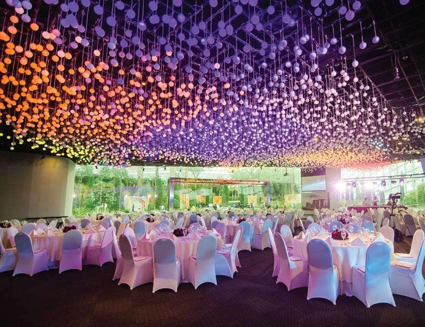 The Bay Gift Registry Wedding: Gardens By The Bay