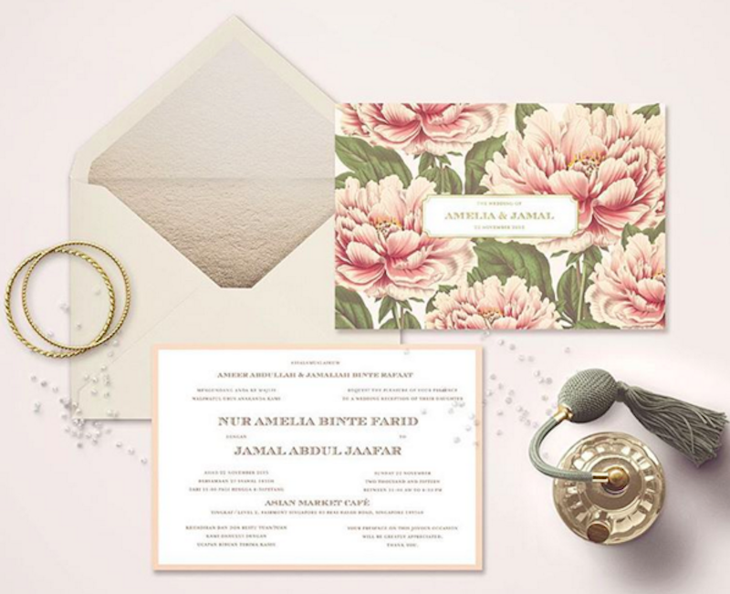 tion cards in Singapore: 20 printers to order stylish custom made stationery Honeybrides