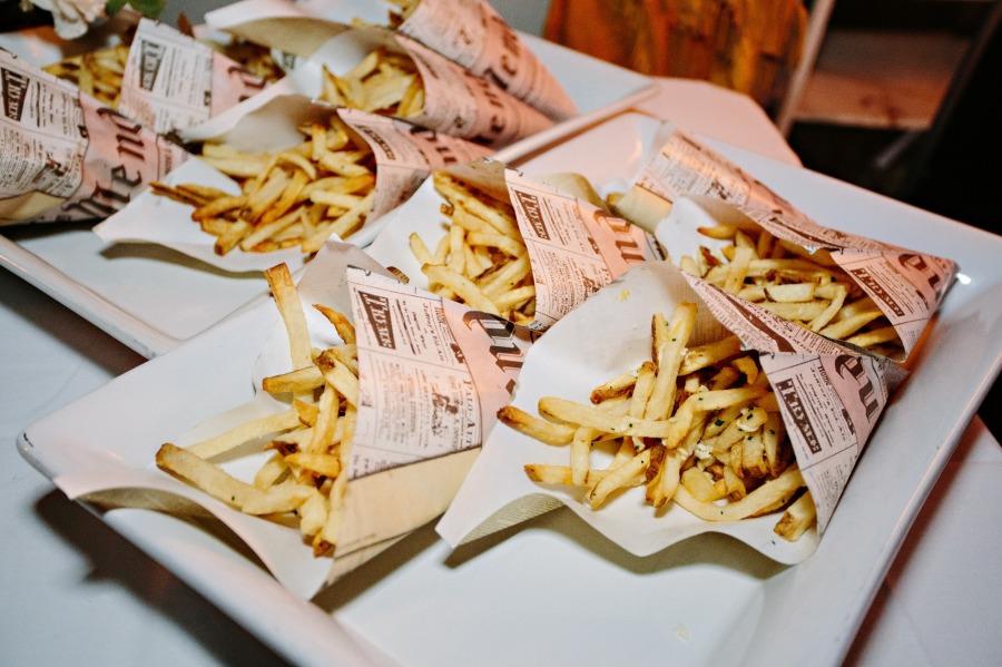 Wedding french fries