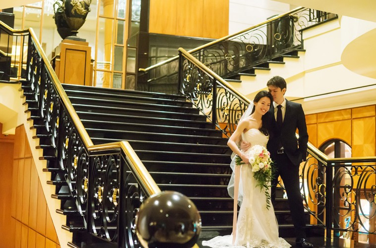 Real Weddings Singapore: Real Wedding: Gerard And Rachel's Elegant, Intimate