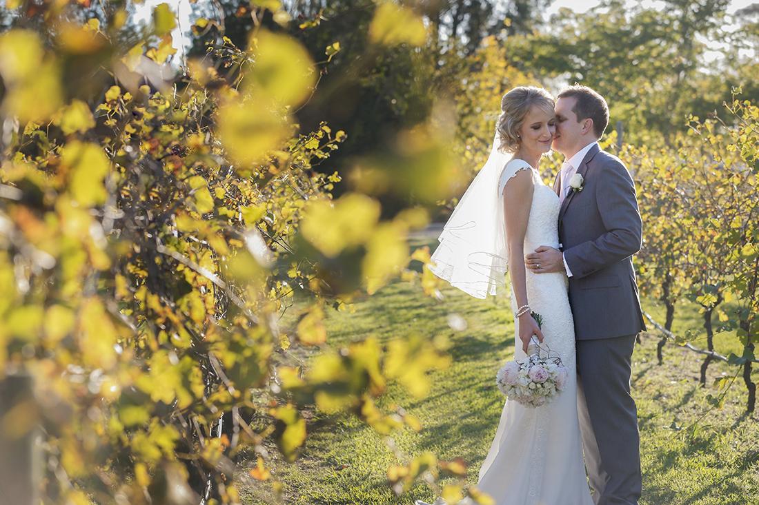 Real Wedding: Glen And Tracey's Elegant Vineyard Wedding