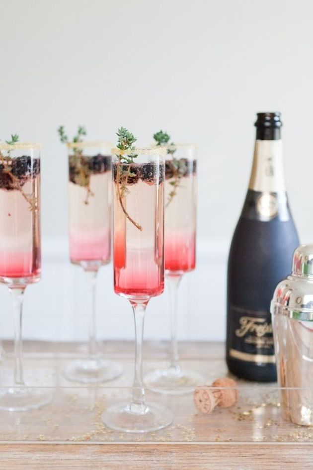 Ombre champagne_The Effortless Chic