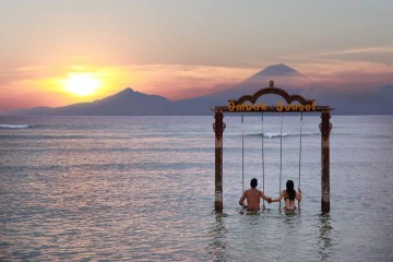 Ombak Sunset on Gili Trawangan