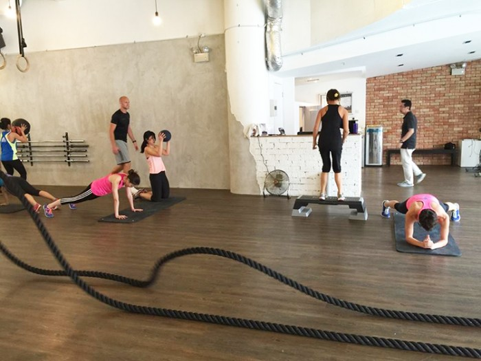 Coming up with inventive ways to keep fit is one of the reasons why we enjoyed Level