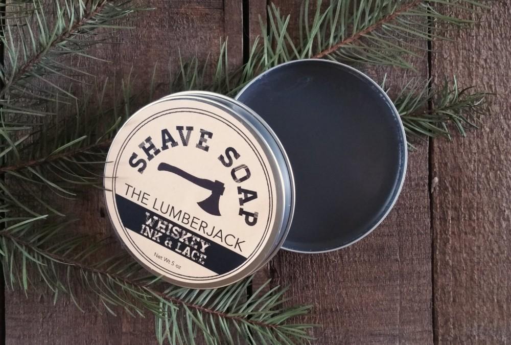 Lumberjack Shave Soap_Etsy