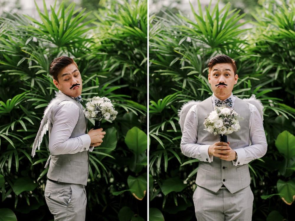 Real Weddings Singapore: Real Weddings In Singapore: Josh And Vivian's Fairytale