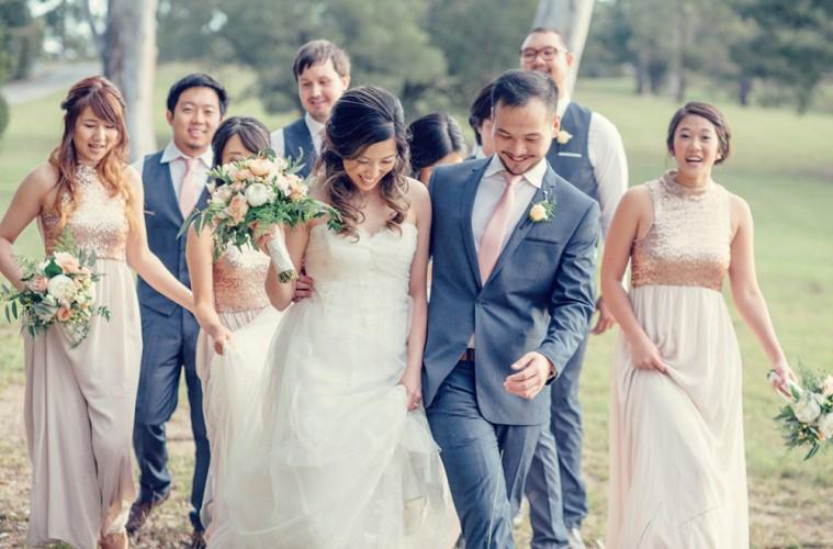 Real Wedding: Wynnie And Wesley's Romantic, Glitz