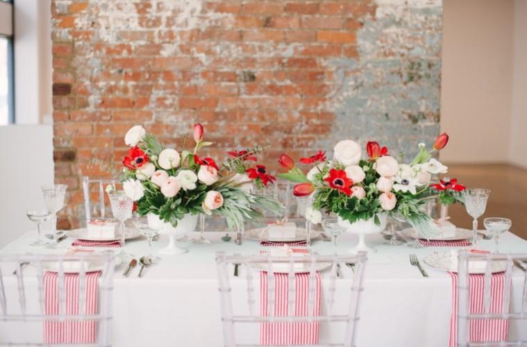 Spring Wedding Tablescapes Five Gorgeous Floral Arrangement Ideas