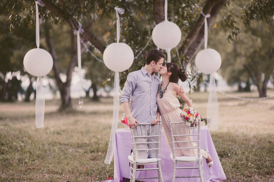 Wedding decorations in Singapore: Pixie Box