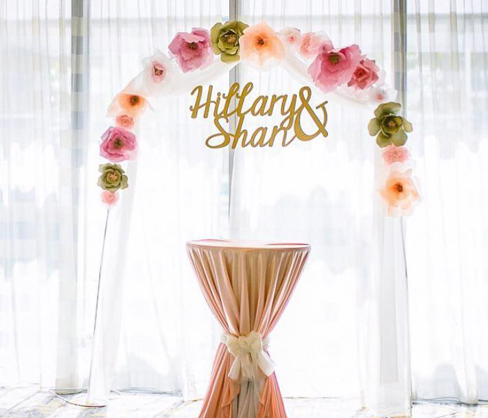 Wedding decorations in Singapore: HappyCo