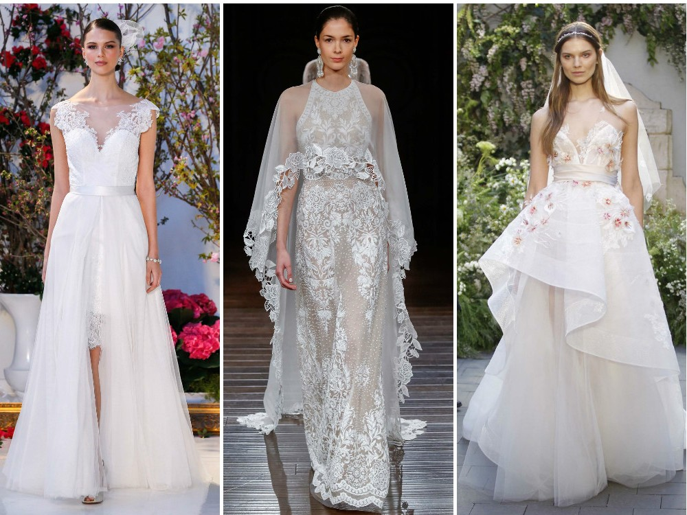 Designer wedding dresses: Best bridal gown trends from Fashion Week ...
