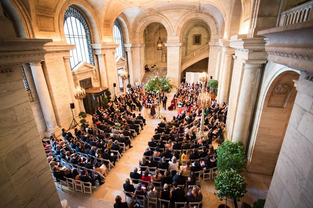 most beautiful places in the world to get married Honeybrides New York Public Library