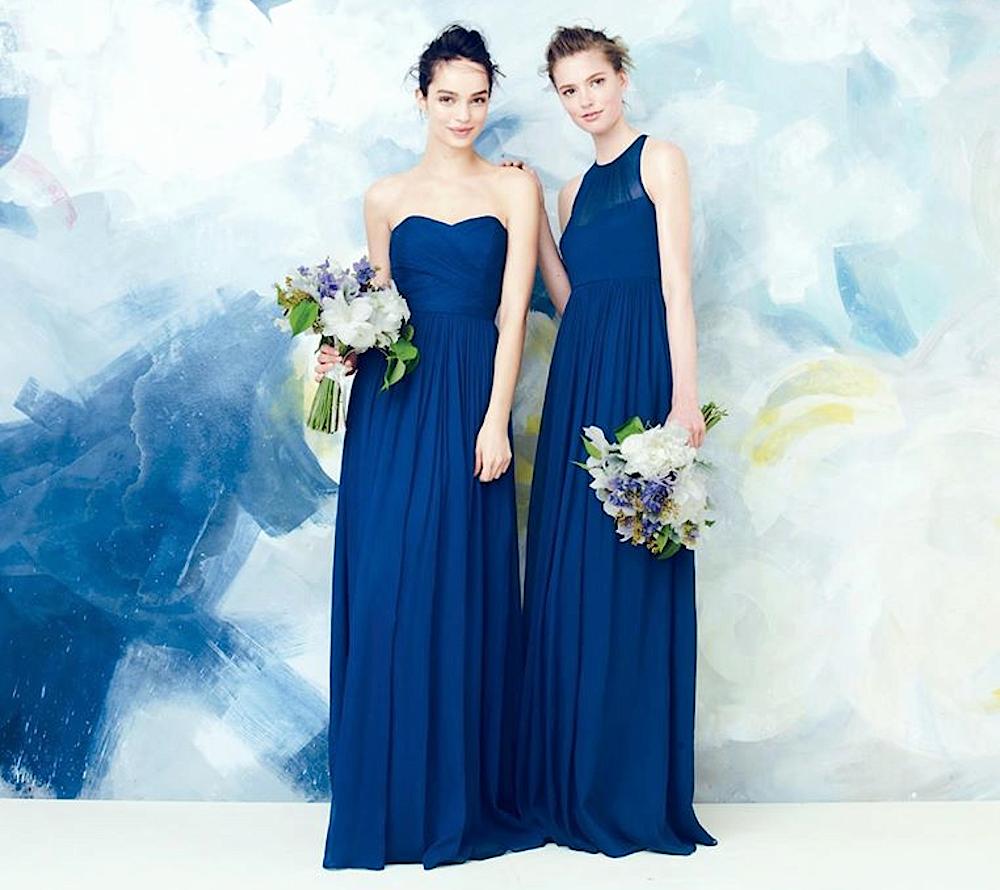 where to buy bridesmaids dresses online Honeybrides  J Crew