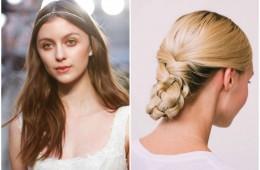 wedding hairstyles bridal fashion week Honeybrides