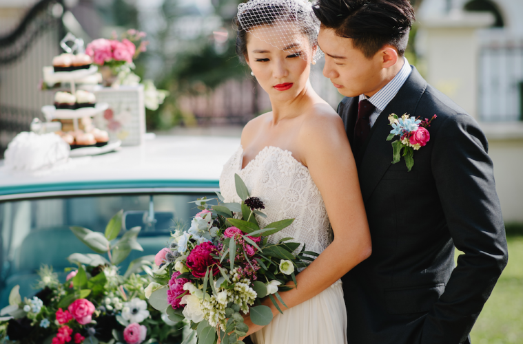 Wedding decor ideas: A vintage French-inspired styled photo shoot in Singapore