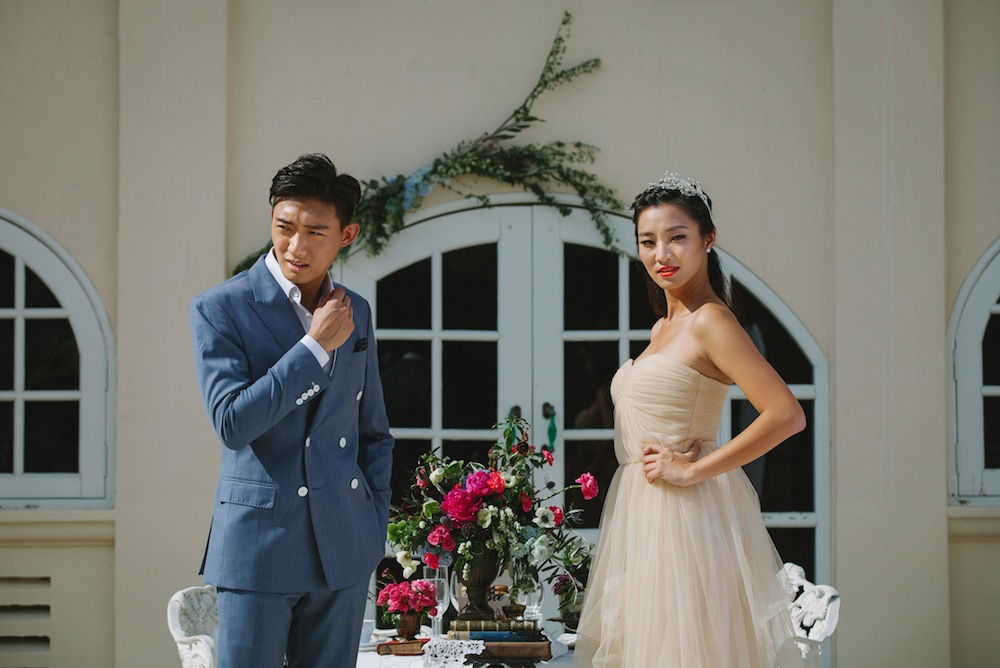 Wedding decor ideas: A vintage French-inspired styled photo shoot in Singapore Honeybrides