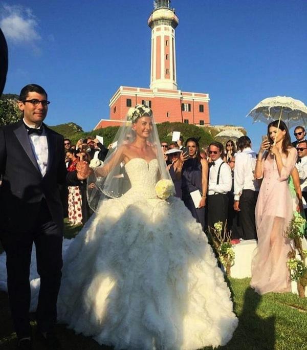 Weddings in Italy: Giovanna Battaglia's epic destination wedding in Capri