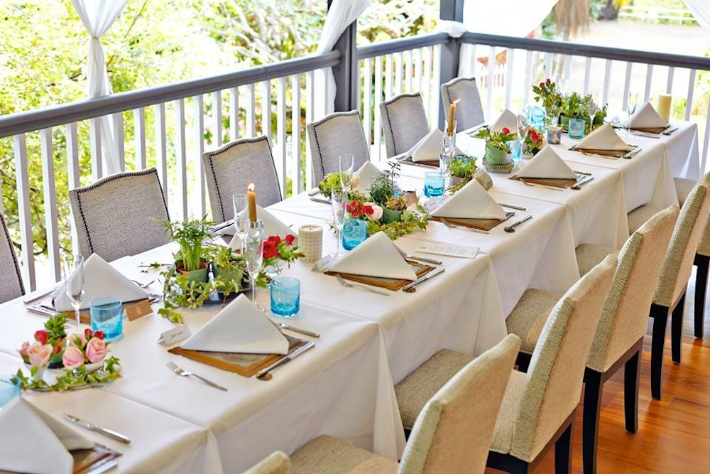 Wedding venues in Singapore: Best outdoot restaurants and cafes for brunch receptions