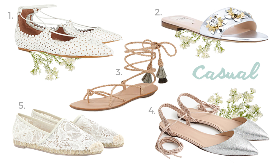 e02671f4403 Where to buy wedding shoes in Singapore  Chic flat shoes for brides  Honeybrides