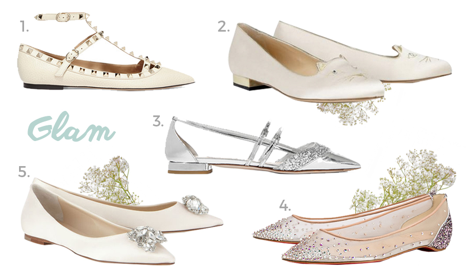Where to buy wedding shoes in Singapore: Chic and comfy bridal flats ...